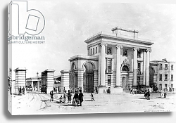 Постер Берн Джон Кук Entrance to Birmingham Station, 1838