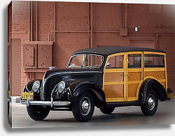 Постер Ford Deluxe Station Wagon '1938