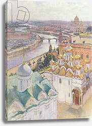 Постер Гриценко Николай View of Moscow from the Bell Tower of Ivan the Great, 1896
