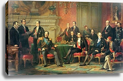 Постер Дюбуфе Эдуард The Congress of Paris, 25 February to 30 March, 1856