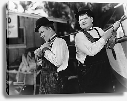 Постер Laurel & Hardy (Towed In A Hole) 2