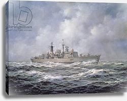 Постер Уиллис Ричард H.M.S. Exeter, Type 42 Destroyer, 1990
