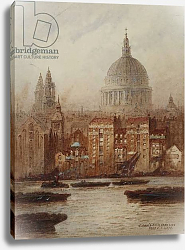 Постер Гофф Фредерик Saint Paul's from Bankside,