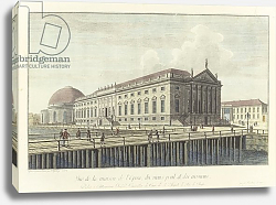 Постер Розенбург Йоханн Джордж The Opera House, Berlin