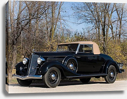 Постер Buick Series 90 Convertible Coupe '1934