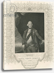 Постер Копли Джон Charles Cornwallis, from 'Gallery of Historical Portraits', published c.1880