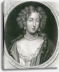 Постер Мигнар Пьер Portrait of Marie Angelique de Scoraille, duchesse de Fontanges