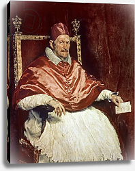 Постер Веласкес Диего (DiegoVelazquez) Portrait of Pope Innocent X, 1650