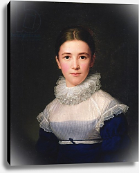 Постер Грогер Фридрих dortrait of Lina Groger, the foster daughter of the Artist, 1815