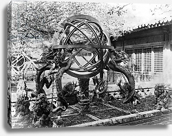 Постер Неизвестен Astronomical instruments at the Imperial Observatory, Peking, China, c.1900