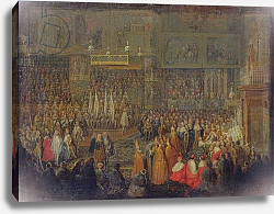 Постер Мартин Жан-Батист Coronation of Louis XV 25th October 1722, 1735