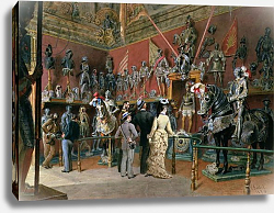 Постер Гоэбль Карл The first Armoury Room of the Ambraser Gallery in the Lower Belvedere, 1875