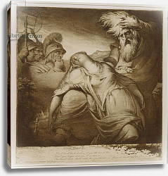 Постер Барри Джеймс King Lear and Cordelia, 1776