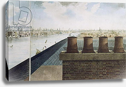 Постер Баркер Роберт Panoramic view of London, 1792-93 2