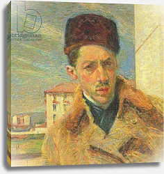 Постер Бочиони Умберто Self Portrait, 1908 2
