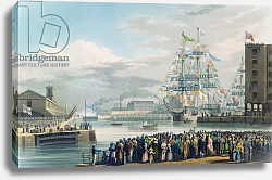 Постер Дункан Эдвард The Opening of St. Katharine Docks, Saturday the 25th October 1828