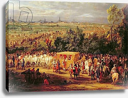 Постер Мюлен Адам The Entry of Louis XIV and Marie-Therese of Austria in to Arras, 30th July 1667, c.1685 2