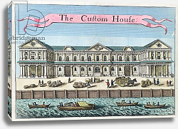 Постер Модерн Робер (грав) Customs House, c.1700