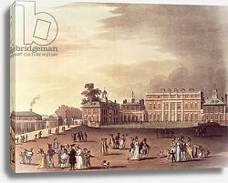 Постер Роуландсон Томас Queen's Palace, St. James's Park, from Ackermann's 'Microcosm of London'