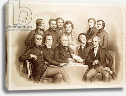 Постер Деверия Ашиль The Provisional Government of 24th February 1848, 1848