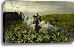 Постер Седжантини Джованни The Pumpkin Harvest, 1897