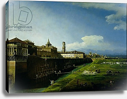 Постер View of Turin from the Gardens of the Palazzo Reale, 1745
