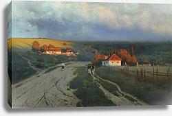 Постер Крыжицкий Константин Вечер на Украине. 1901