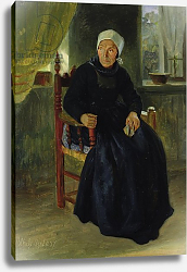 Постер Дженслер Якоб A Woman from Blankenese, 1837