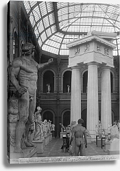Постер Гирадон Адольф (фото, фр) Ecole Nationale des Beaux-Arts, Palais des Etudes, the glass courtyard, c.1890-99
