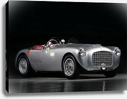 Постер Ferrari 212 Export Spider by Motti '1951