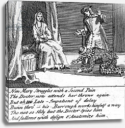 Постер Кинг Хайнц The Doctor in Labour, or the New Whim Wham from Guildford, circa 1726 2