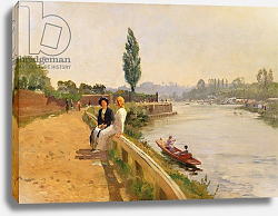 Постер Блэк Джон The Thames at Hampton Court