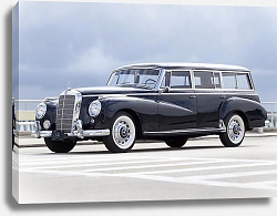 Постер Mercedes-Benz 300C Station Wagon by Binz '1956