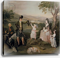 Постер Аллан Давид John, the 4th Duke of Atholl and his family, 1780