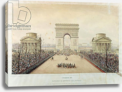 Постер Джанг Теодор Entry of Napoleon III into Paris, through the Arc de Triomphe, on 2nd December 1852