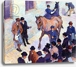 Постер Бевэн Роберт A Sale at Tattersalls, 1911
