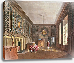 Постер Пайн Уильям (грав) The Guard Chamber, St. James' Palace from Pyne's 'Royal Residences', 1818