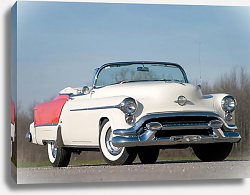 Постер Oldsmobile 98 Fiesta Convertible '1953