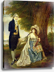 Постер Девис Артур Mr and Mrs Fraser, c.1785-90