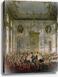 Постер Мейтенс Мартин Court Banquet in the Great Antechamber of the Hofburg Palace, Vienna