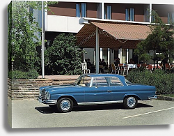 Постер Mercedes-Benz 280SE 3.5 Coupe (W111 W112) 1969–71