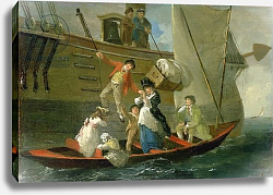 Постер Ибертсон Юлиус A Married Sailor's Adieu, c.1800