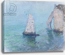 Постер Моне Клод (Claude Monet) The Rock Needle and the Porte d'Aval, c.1885