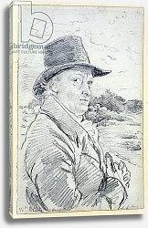 Постер Линнел Джон William Blake Wearing a Hat, c.1825