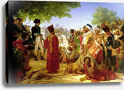 Постер Гуерин Барон Napoleon Bonaparte Pardoning the Rebels at Cairo, 23rd October 1798, 1806-08
