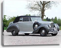 Постер Bentley Mark VI Drophead Coupe by Park Ward '1949