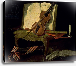 Постер Одри Жан-Батист Still Life with a Violin