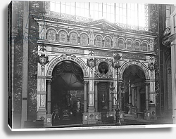Постер Гирадон Адольф (фото, фр) Portico of the Silversmith Pavilion at the Universal Exhibition, Paris, 1889