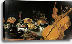 Постер Клас Питер Still Life with Musical Instruments, 1623