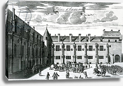 Постер Слезер Джон Palace of Falkland, from 'Theatrum Scotiae' by John Slezer, published 1693